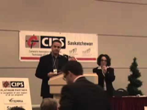 CIPS Saskatchewan / U of R Computer Science CSEdWeek luncheon: awards