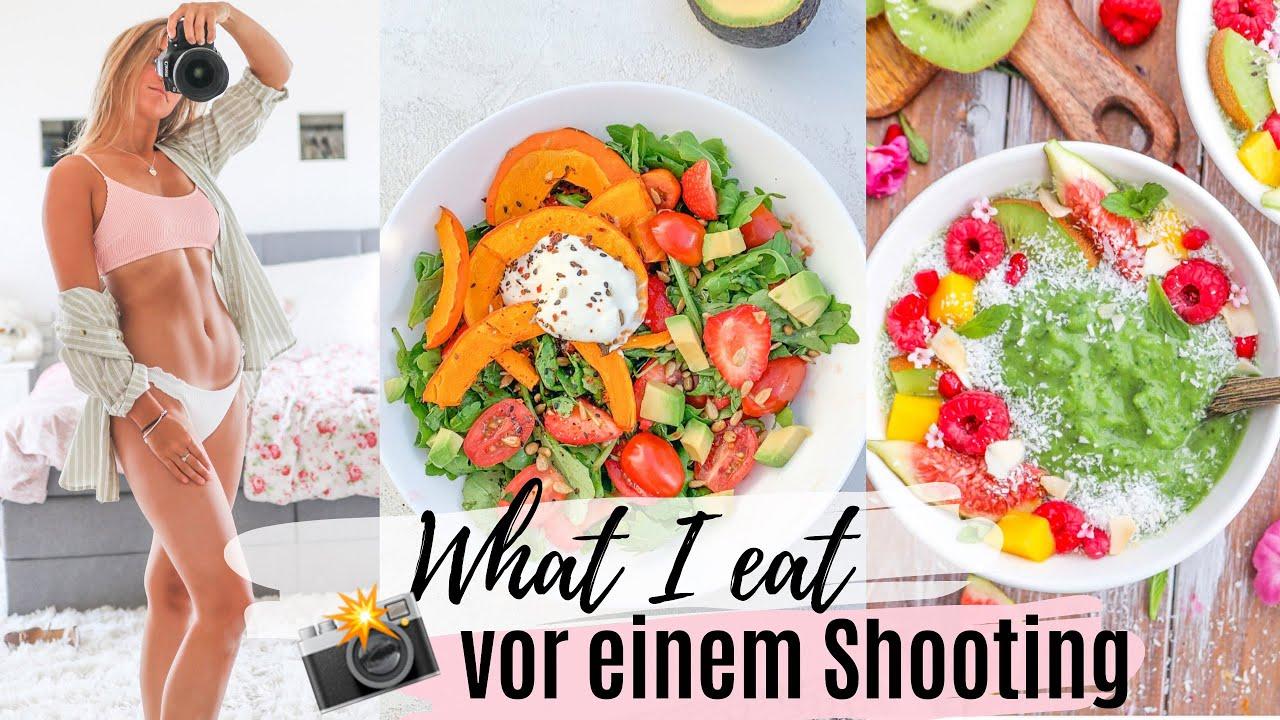 What I eat vor einem Shooting I Blähbauch vermeiden I gesunde Rezepte + Kalorienangaben