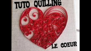 Tuto coeur quilling paperolle comment faire un coeur quilling home deco pap - Comment fair un coeur ...