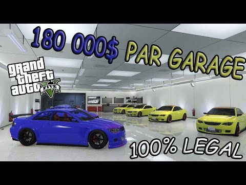 Spawn de voiture 180 000 par garage no glitch gta 5 for Voiture garage gta 5