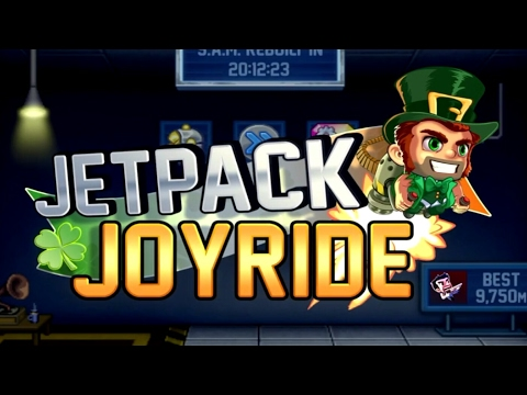Jetpack Joyride - ST. PATRICK'S DAY EVENT Gameplay (by Halfbrick Studios)