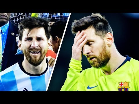 4 times Messi cried over football - Oh My Goal