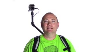 DIY Over the Shoulder GoPro Camera Rig