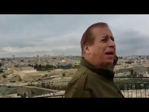 GARY LEE - EN EL MONTE DE LOS OLIVOS FRENTE A LA CIUDAD DE JERUSALÉN