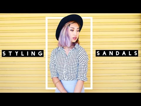 Styling Basics: Sandals Lookbook
