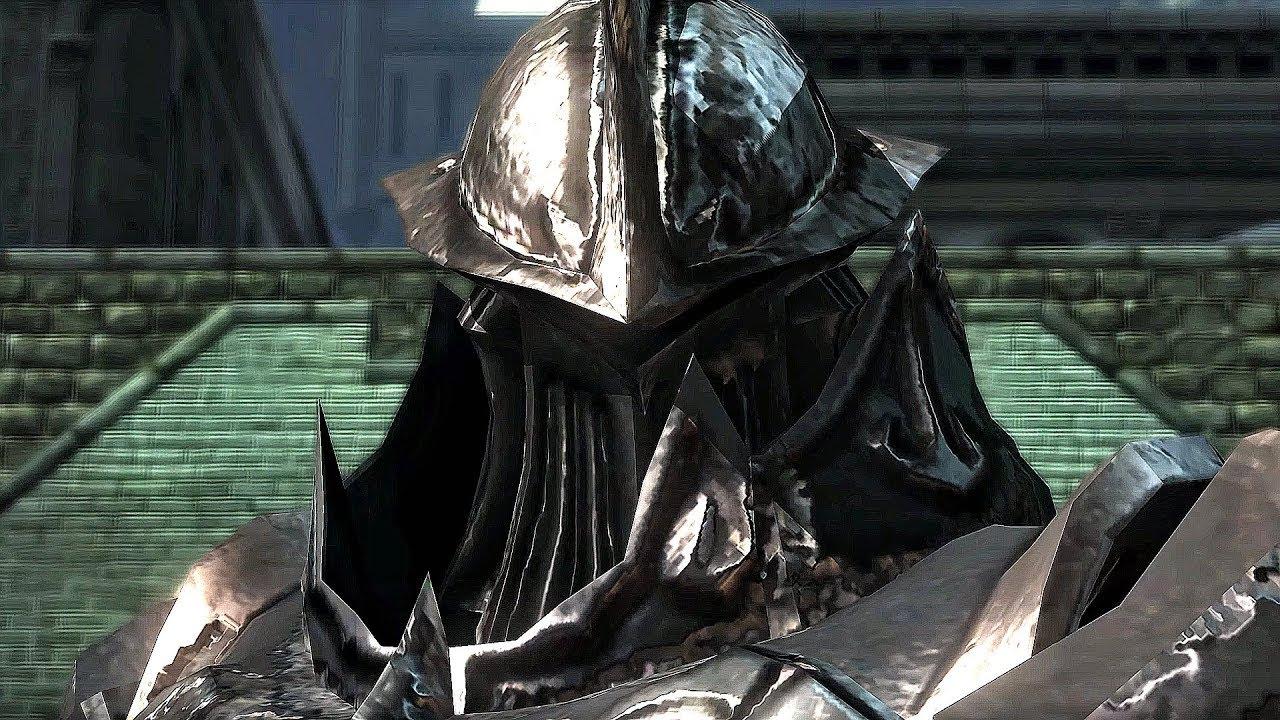 Demon S Souls Tower Knight Boss Fight 4k 60fps Youtube