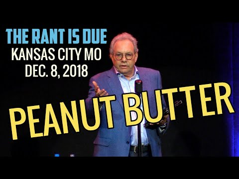 Lewis Black | 12/8/18 Kansas City MO: Peanut Butter