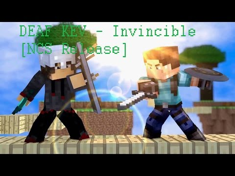 DEAF KEV - Invincible [NCS Release] - Minecraft Animation