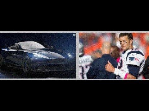 Aston Martin Unveils Tom Brady Tb12 Car Youtube