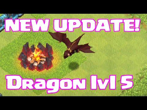 lvl 5 dragons coc update