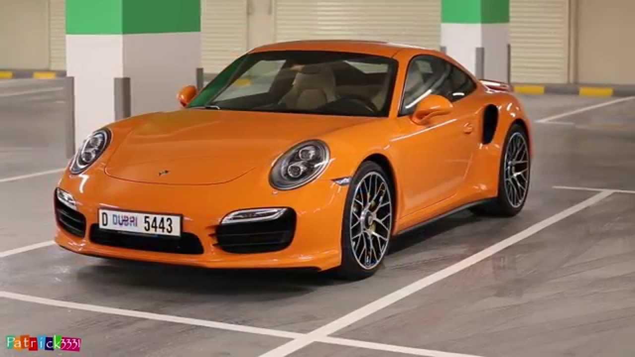 Porsche 911 Turbo S (991) in amazing orange