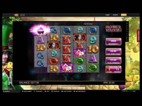 Single Slot Series - Big Time Gaming - White Rabbit Part II