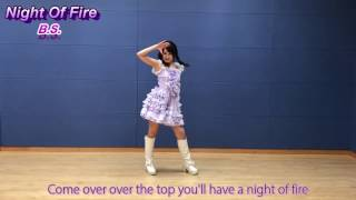 night of fire ppp parapara song of initial d dance super eurobeat dance evolution with lyrics