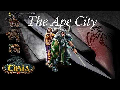 Tibia | The Ape City (Surface) | Knights 35+ | (60k/h)