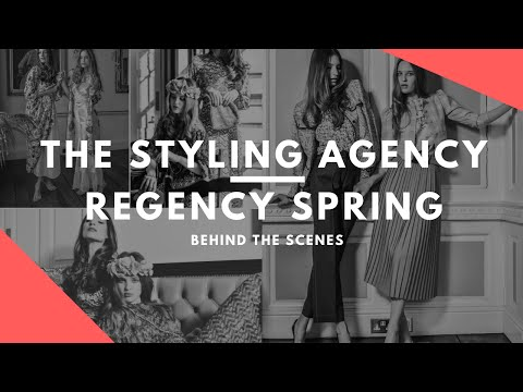 Absolute Magazine Photo Shoot March - behind the scenes  with The Styling Agency