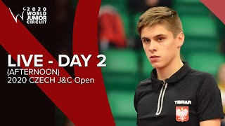 Day 2 Afternoon - ITTF 2020 Czech J&C Open