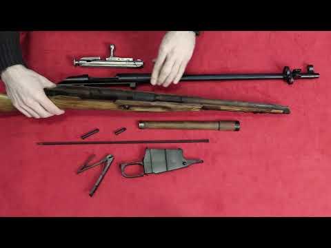 Разборка/сборка винтовки Мосина