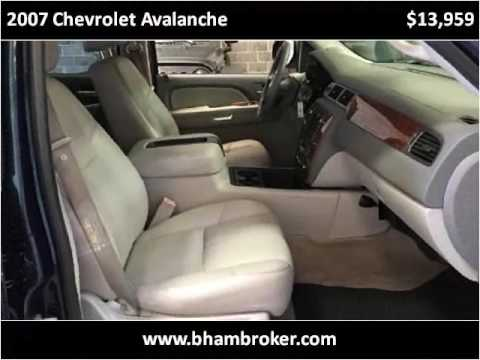 2007 Chevrolet Avalanche Used Cars Birmingham, Mountain Broo