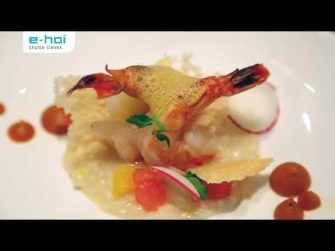e-hoi zu Gast im Rossini Restaurant auf AIDAprima