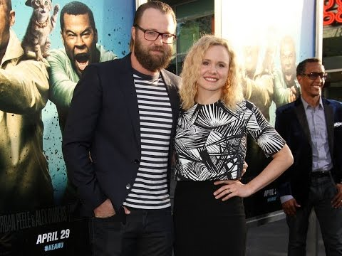 Alison Pill and her husband Joshua Leonard