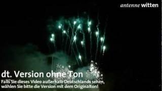 """Dortmund: Feuerwerk """"Fire in motion"""", DEW21 Museumsnacht am 1. 10. 2011 (dt. Version)"""