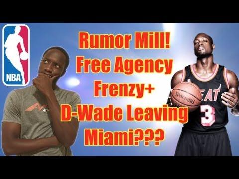 NBA Free Agency | D-Wade Leaving Miami???