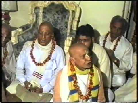 Kirtan in our Residence in November,1991 by Devotees of Sri Pathbari