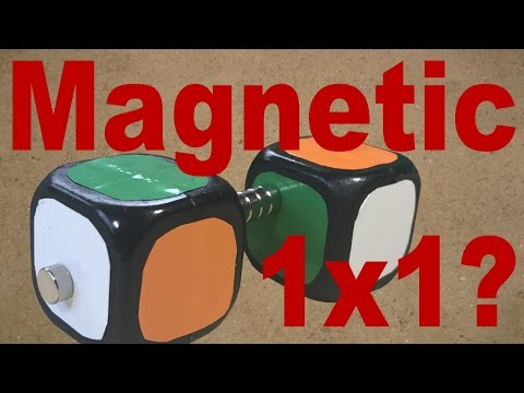 How to Make a Magnetic 1x1 Rubik's Cube