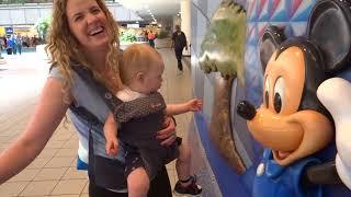 Walt Disney World Vacation May 2018: Day 1 - Traveling & Magic Kingdom (Episode 225)