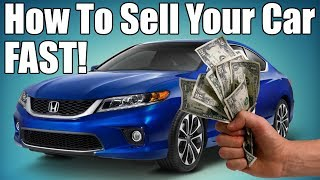 How to Sell Your Car Online Fast!