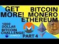 $1000 Bitcoin Challenge Part 4 - YouTube