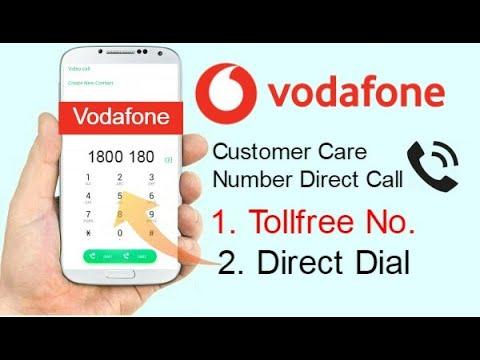 Vodafone Customer Care Number 2020 | Vodafone Customer Care Se Kaise Baat Karen? (Tollfree No.)