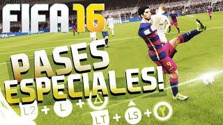 FIFA 16 - TODOS LOS PASES ESPECIALES | TUTORIAL