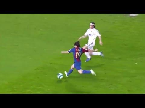 Lionel Messi | Barcelona 3-3 Real Madrid | 2006-07 La Liga Round 26