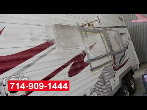 Trailer Body Damage Repair Shop In Orange County CA
