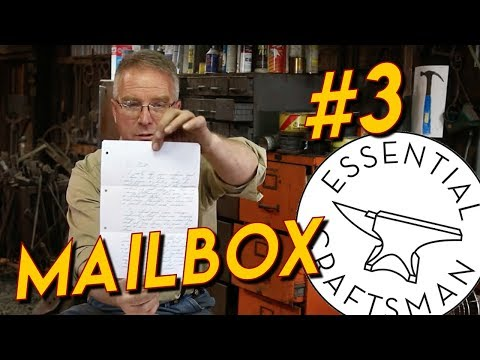 Mail Box #3: Kneepads, Leatherman, Handle Wood, Ben's Mill, Stickers, Etc.
