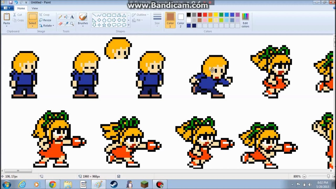 how to make sprite sheets