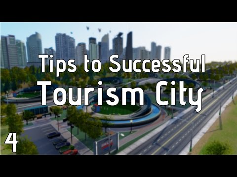 Simcity Tips for Tourism ► Part 4 ► Hotels/Capacity/Attraction