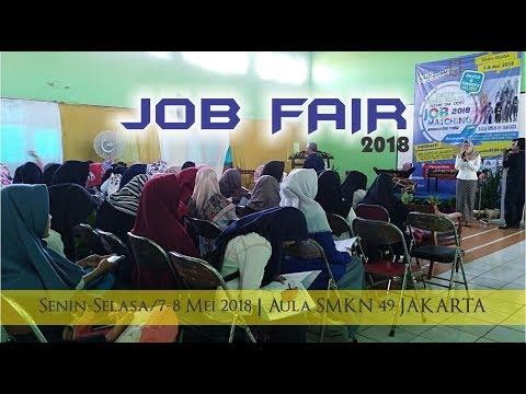 Job Matching & Education Fair 2018 SMKN 49 Jakarta #Pembukaan