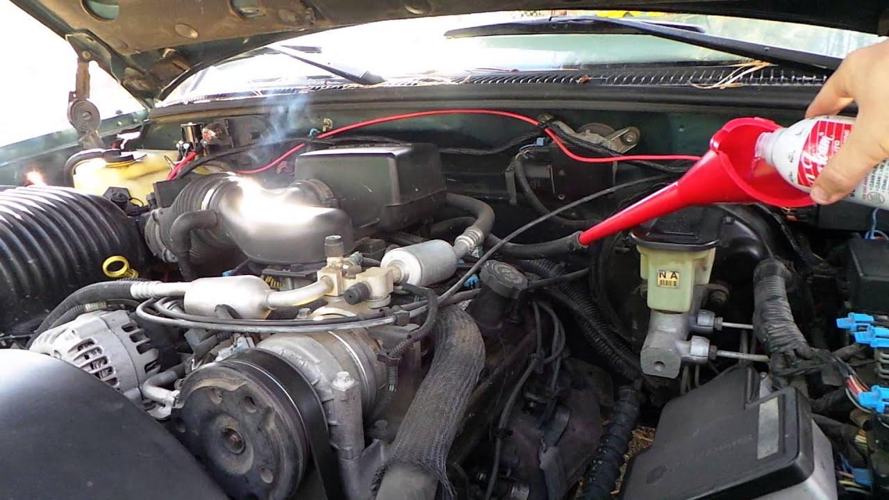 1996 silverado vortec 5 7l 350 vacuum seafoam [ 1280 x 720 Pixel ]