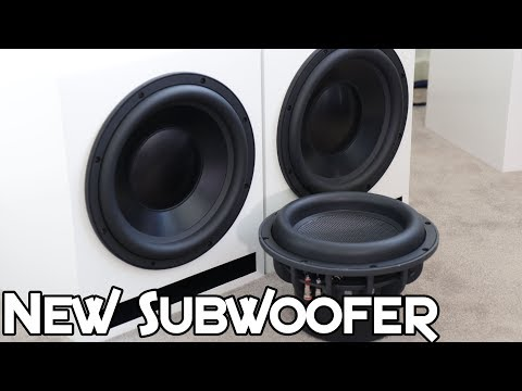 NEW SUBWOOFER! - DAYTON ULTIMAX