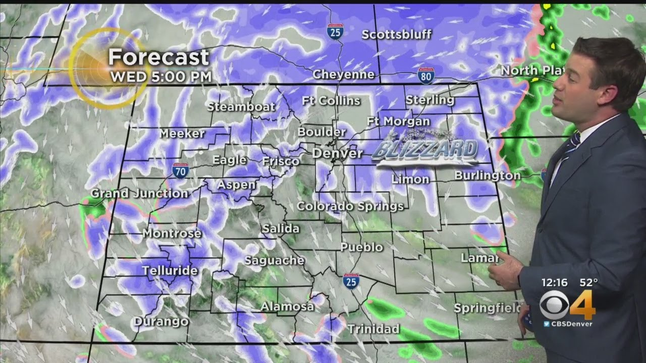 Denver weather: Heavy snow continues, blizzard warnings posted ...