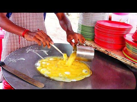 World's Biggest Scrambled Egg Pulao | Scrambled Egg Recipe | How To Make | Indian Street Food