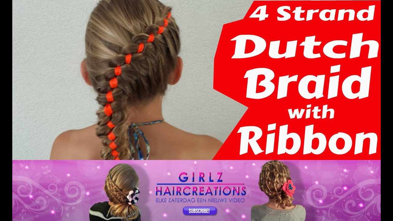 Popular on t The 4Strand Dutch Braid peinados