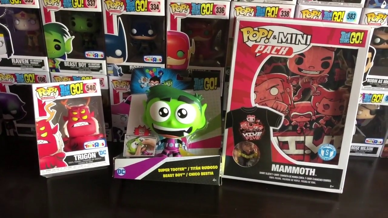 Teen Titans Go Toy Review Toys R Us Haul Part 2 Youtube