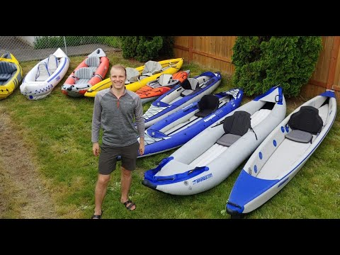 Choosing an inflatable kayak. What promo videos don't talk about