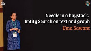 Needle in a haystack: entity search on text and graph