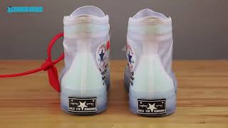 52afe2d2dd08 Happy Purchaser Comments  Off White Converse Chuck Taylor Unboxing + Review
