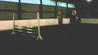 Annika Knudsen Lorentsen - Kircha jumping 120cm