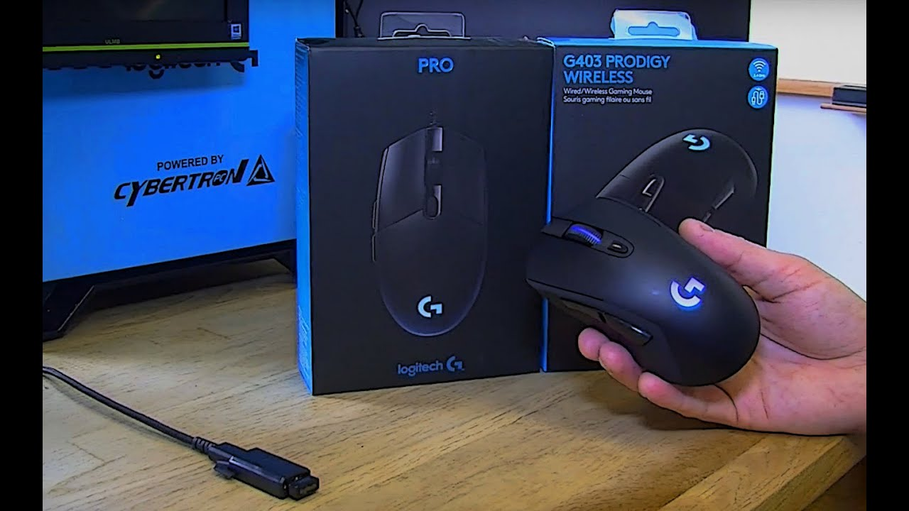 e284c3c3c27 Review: Logitech G403 Prodigy Wireless Mouse | GameCrate